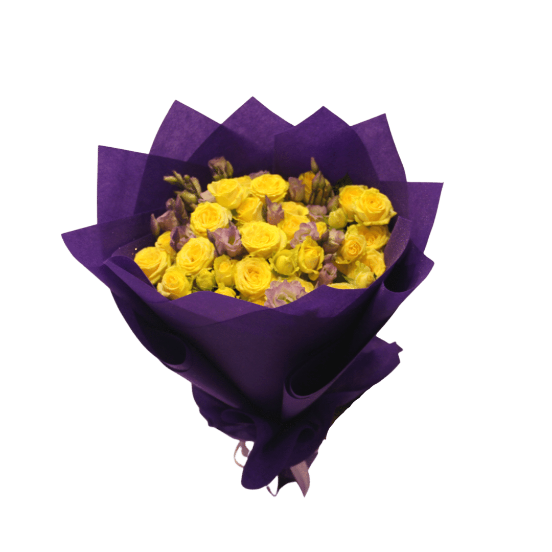 The Yellow and Purple Flowers