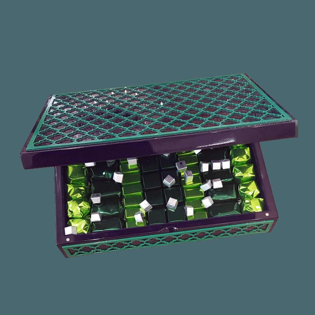 Arabesque chocolate box Chocolates