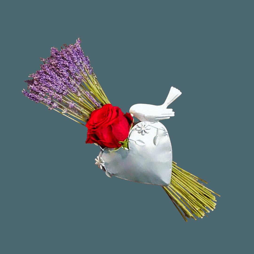 Love Birds Flowers