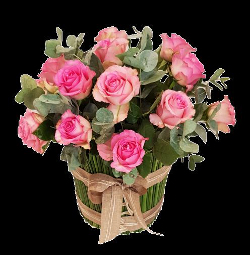 Aisha - Pink Flowers